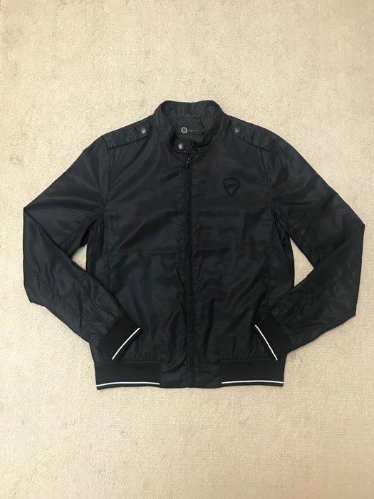 Sport'b 黑色棒球薄外套
