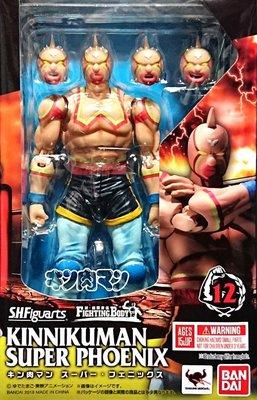 日本正版 萬代 S.H.Figuarts SHF 筋肉人 金肉人 超級鳳凰 金肉人 可動 模型 公仔 日本代購