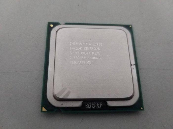 台中,太平,大里電腦維修 - 中古 INTEL LGA 775 E3400 2.6G (CPU + 風扇/限自取)