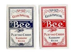 BEE 92 撲克牌 窄牌 (NARROW SIZE)