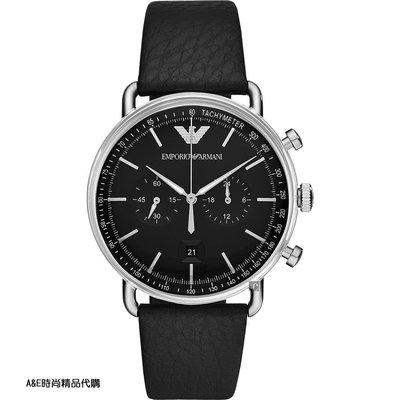 A&E精品代購 EMPORIO ARMANI 阿曼尼手錶AR11143 經典義式風格簡約腕錶 手錶