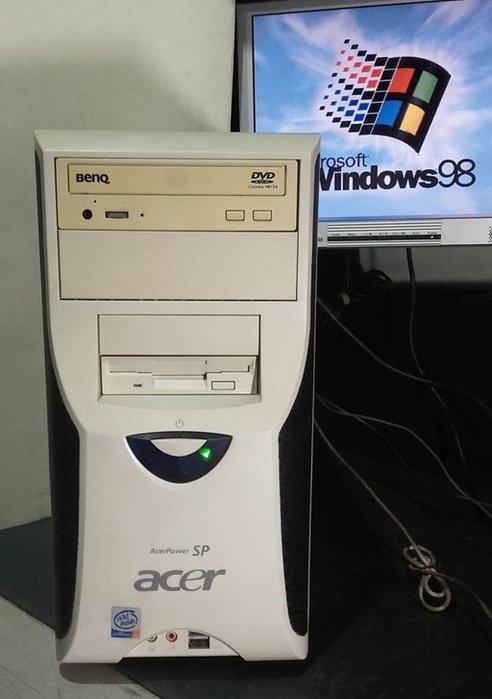【窮人電腦】跑Win98系統!宏碁工業主機出清!雙北桃園可親送!外縣可寄!