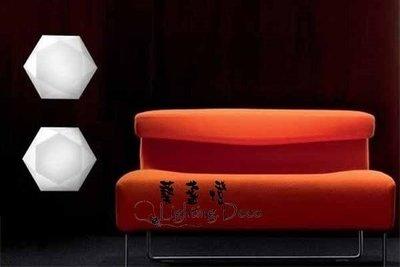 【Lighting.Deco】鑽石吸頂燈 北歐風格 設計師的燈 六芒星 吸頂燈 走道燈 房間燈 浴室燈
