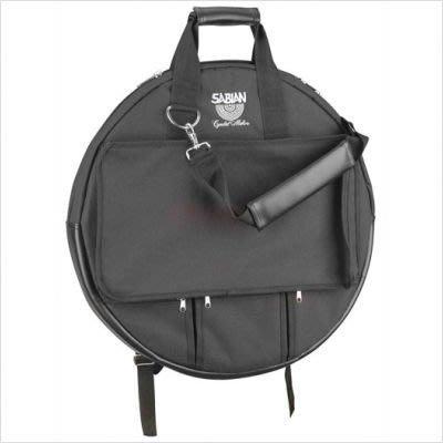 【六絃樂器】全新 Sabian 原廠豪華型銅鈸袋 / 多層間隔內袋 避免銅鈸磨損