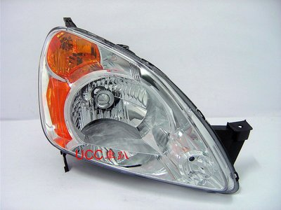 【UCC車趴】HONDA 本田 CR-V 2代 03 04 CRV 二代 原廠型 晶鑽大燈 TYC製 一組4600