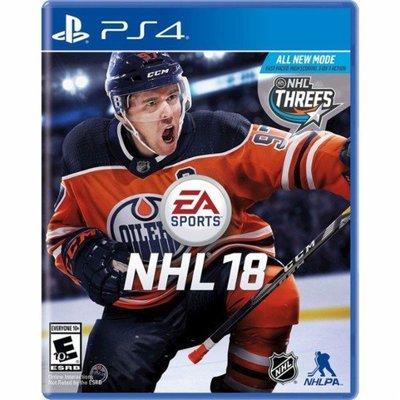 NHL 18 PS4 PlayStation 4 Standard Edition 美版 標準版