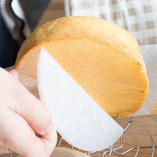 Amy烘焙網:8吋蛋糕圓底紙耐高溫20cm/乳酪蛋糕/氣炸鍋/海綿蛋糕通用50張