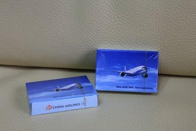 華航 中華航空 CHINA AIRLINES 最新款 New A350 飛機 紀念 撲克牌 普克牌 遊戲 收集 收藏