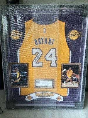 Kobe Bryant 科比 簽名球衣 Panini 認證 湖人 Lakers Black Mamba