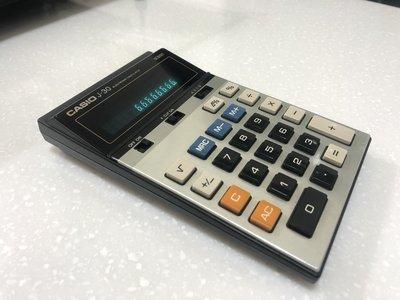 【手機寶藏點】CASIO J-30 electronic calculator 卡西歐 計算機 功能正常