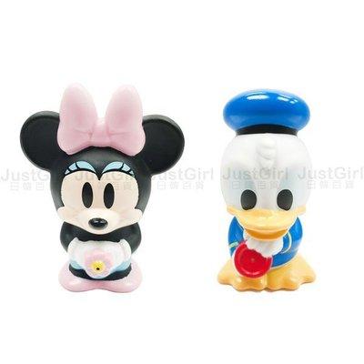 迪士尼 米妮 唐老鴨 噴水好朋友 洗澡玩具 噴水玩具 正版日本進口 JustGirl