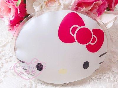 ♥小公主日本精品♥Hello Kitty經典大臉蝴蝶結環保暖暖包 重複使用 保暖包 隨身攜帶輕便方便33032801