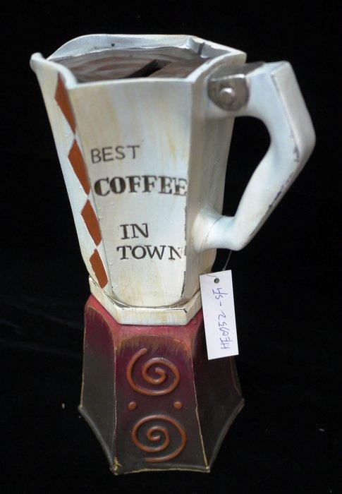 【布拉格歐風傢俱】義式咖啡機存錢筒