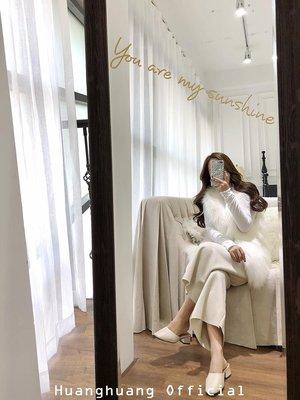 【HH Official】秋冬新款顯瘦垂感氣質紋理哈倫直筒褲寬腿百搭女士休閑毛呢闊腿褲