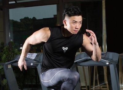 🔥黑曼巴Kobe Bryant科比運動背心🔥NBA湖人隊Nike耐克愛迪達健身籃球衣服內搭排汗無袖上衣T恤男女405