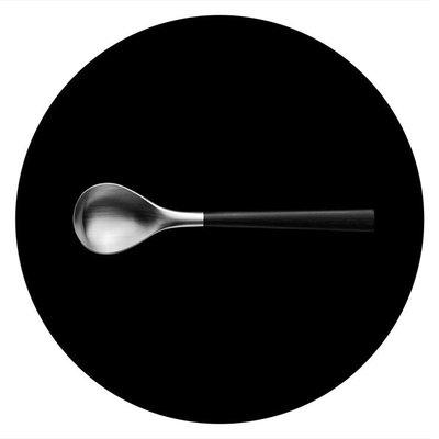 Luxury Life【正品】Sori Yanagi Black Birch 柳宗理 樺木黑柄餐具系列 不鏽鋼 茶匙