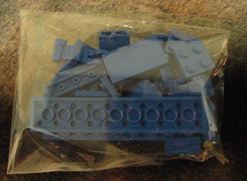 [狗肉貓]_LEGO 樂高_藍色一包_補充包