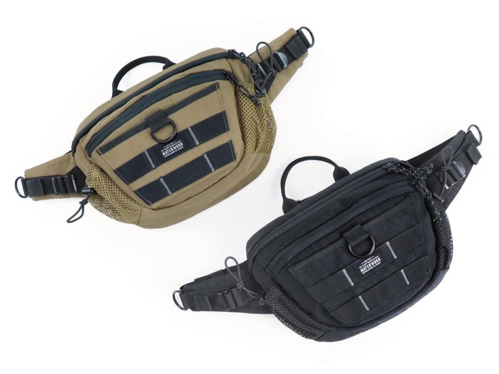 { POISON } MATCHWOOD PORTABLE MAX WAIST BAG 軍事風格機能性斜背腰包胸前隨身包