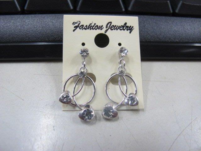 二手舖 NO.4506 時尚造型耳環 耳針 耳鉤 便宜賣 首飾飾品