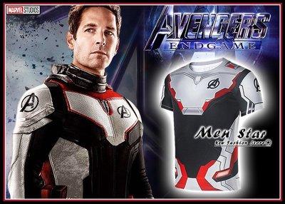 【Men Star】免運費 復仇者聯盟4終局之戰 量子戰衣 運動衣 自行車服飾 短T 媲美 Dickies SMUDGE