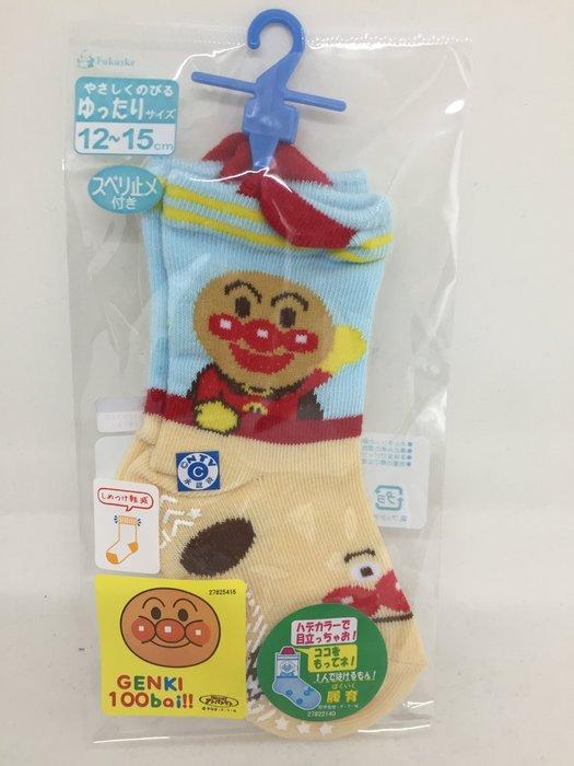 日本 麵包超人止滑襪子