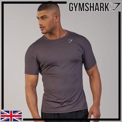 GYMSHARK AERATE T-SHIRT 透氣機能T恤-板岩紫
