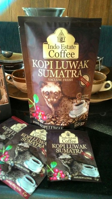 蘇門答臘純野生麝香貓研磨咖啡Wild Kopi Luwak Sumatra (powder)