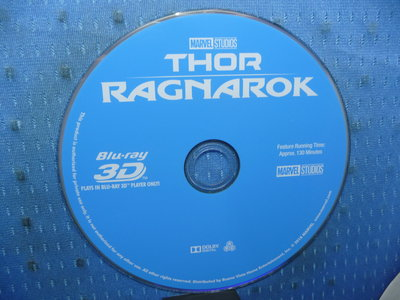 [無殼光碟]KV 雷神索爾3:諸神黃昏  藍光光碟電影  3D 1片裝