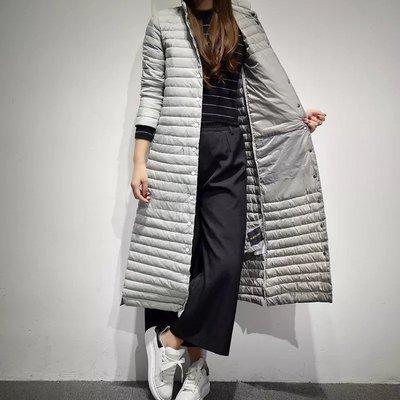 長大衣 外套 風衣 羽絨外套 過膝外套 保暖外套 超長 輕便超薄 羽絨服 修身顯瘦