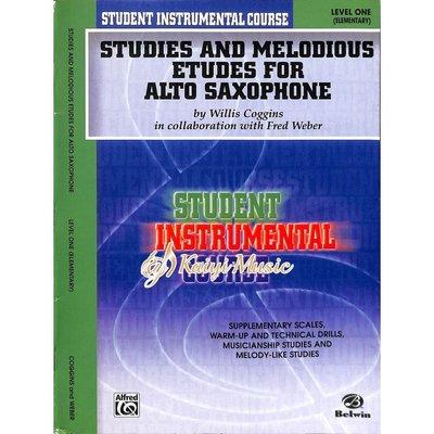 Kaiyi Music ♫Kaiyi Music♫Studies and Melodious Etudes Alto Saxophone I