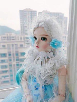 麗絲凱蒂娃娃改妝bjd換裝仿真女孩公主關節洋娃娃玩具套裝