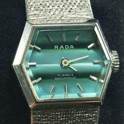 OQ精品腕錶  瑞士手上鍊女錶機械錶壓克力鏡面不含龍頭20MM行走正常