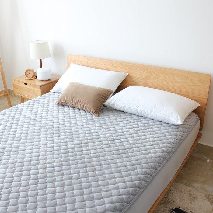 創意 可愛 床笠秋冬加厚保暖水晶絨床笠防滑床墊褥子夾棉席夢思保護套床護墊床罩