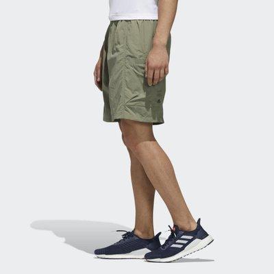 南◇2020 4月 ADIDAS M TECH WV SHORTS 短褲 綠色 工裝 山系 多口袋 休閒 FM5404