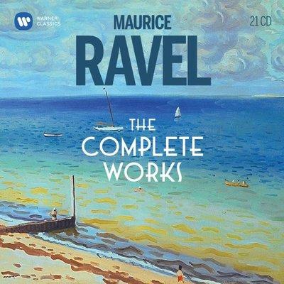 拉威爾作品全集 Ravel: The Complete Works / 眾多藝人(21CD)---9029528326