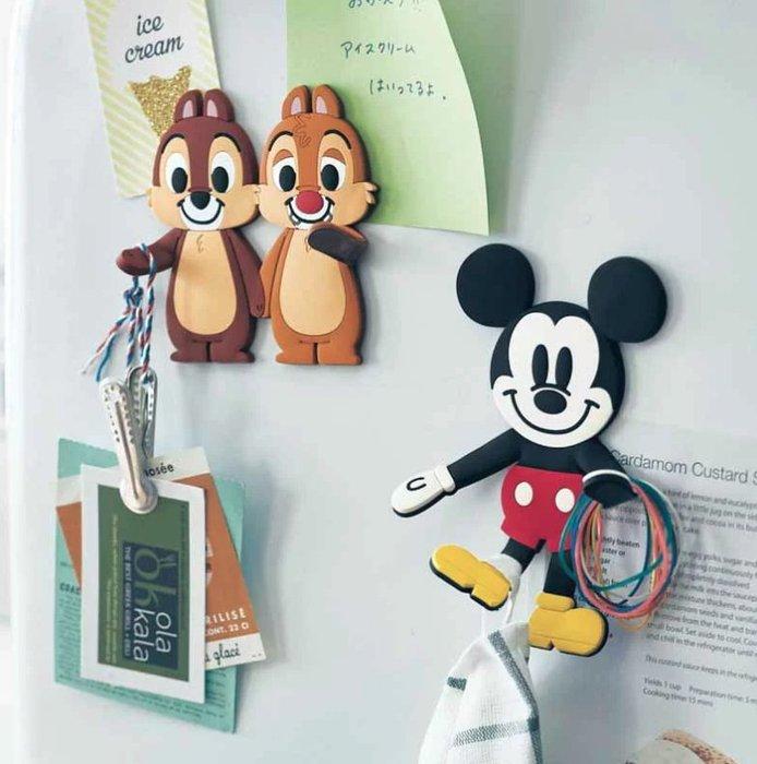 《FOS》2019新款 日本 Disney 迪士尼 米奇 磁鐵 支架 掛勾 唐老鴨 奇奇 蒂蒂 可愛 文具 熱銷 限量