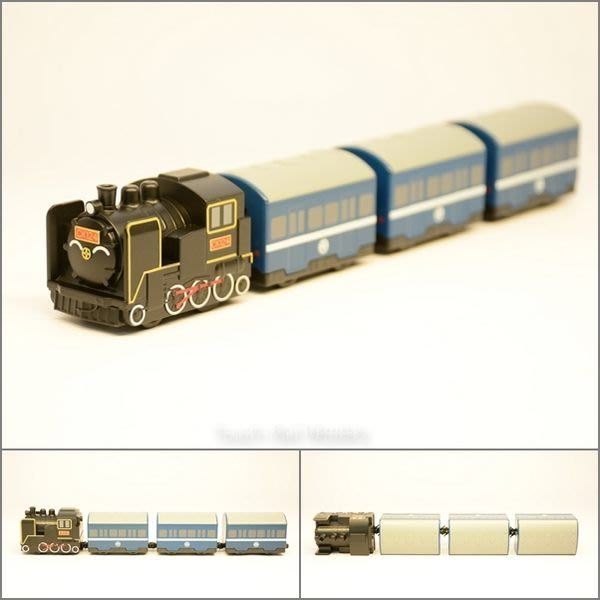 【喵喵模型坊】TOUCH RAIL 鐵支路 Q版小列車 CK124普通列車 (QV063T1)
