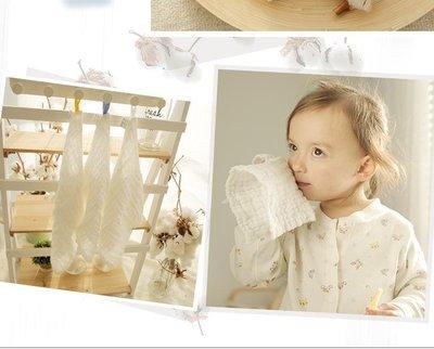店長嚴選棉花堂寶寶口水巾圍嘴純棉嬰兒小方巾新生兒毛巾嬰兒洗臉巾紗布