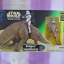 Kenner Star Wars The Power Of The Force 3.75吋 ( dewback , Sandtrooper )只拆盒拍照