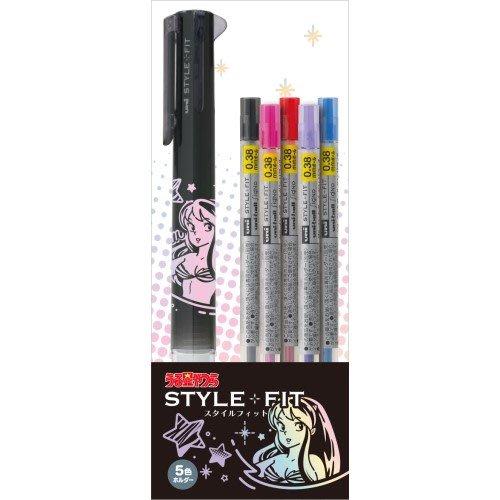 極上日貨 日本限定 うる星やつら 福星小子 拉姆 三菱UNI Style Fit五色筆管筆芯精裝組 現貨