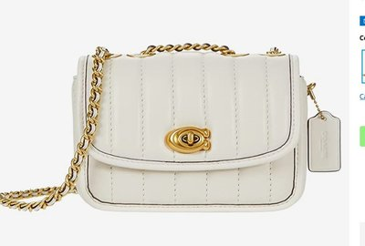 COACH Quilted Leather Madison Shoulder Bag 16