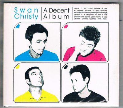 [鑫隆音樂]西洋CD-SWAN CHRISTY**A DECENT ALBUM{BLRCD085}全新/免競標