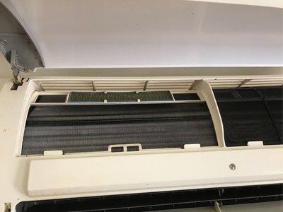 洗冷氣分離式冷氣保養清洗、清洗後大大提昇冷氣效率高有夠冷才夠省電