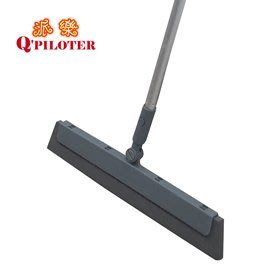 TV熱賣-派樂彈力無塵掃把 刮水掃把 無水痕 撥水彈力掃把 浴室用 客廳用 房間用 特賣超值組(3入)