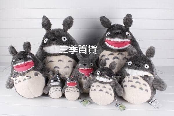 三季吉蔔力totoro日本龍貓系列毛絨龍貓公仔  絨毛玩偶 貓造型玩偶 生日禮物送朋友❖661