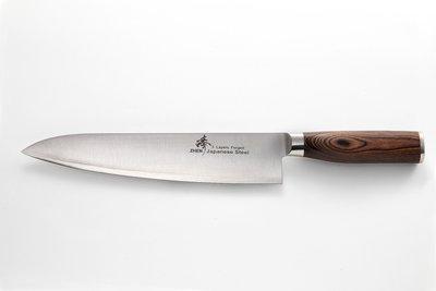 ~Zhen 臻~✩  三合鋼✩ 240mm 主廚料理刀  廚師刀、牛刀、西餐刀  ~ 核桃木柄