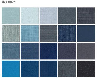 【LondonEYE】日本美學零甲醛壁紙 • 豐富純色全系列/織品面/石紋面/壁布 極簡住宅/風格商空/侘寂JIS-藍