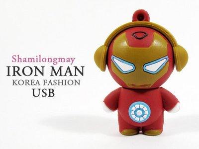 蝦靡龍美【IUS0001】系列可愛鋼鐵人8G隨身碟USB 復仇者聯盟 蝙蝠俠 雷神索爾 蜘蛛人