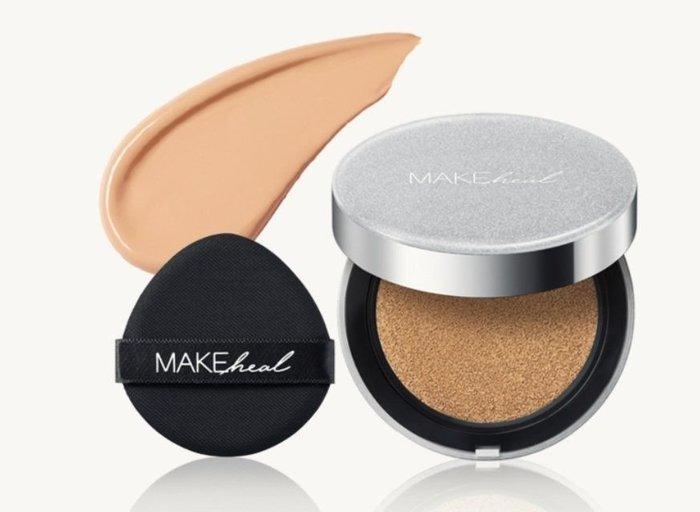 韓國美迪惠爾旗下彩妝品牌MAKEHEAL 1PL CHSHION SPF20+PA++ 自然無瑕美肌氣墊粉底 三色 預購中