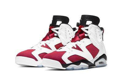 """沃皮斯§Air Jordan 6 Retro """"Carmine"""" 紅白  CT8529-106 [EW]"""